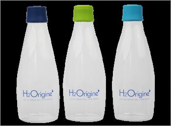 Gourde Borosilicate H2origine
