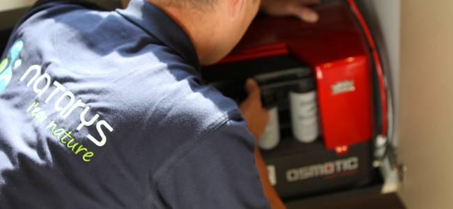 Notre service d'installation, de maintenance et de SAV pour les systèmes de filtration de l'eau du robinet